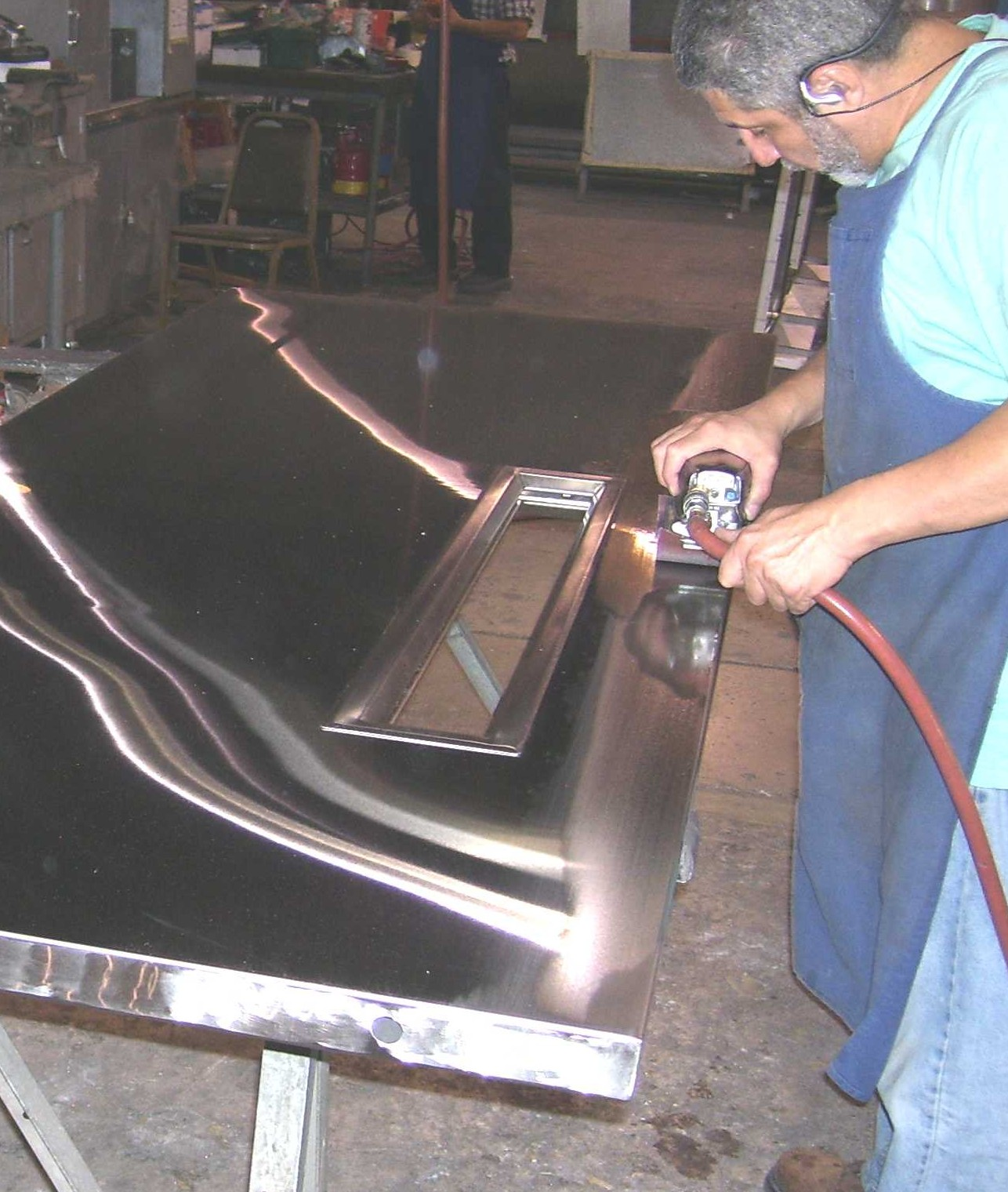 Custom Stainless Steel Door Fabrication Dash Door