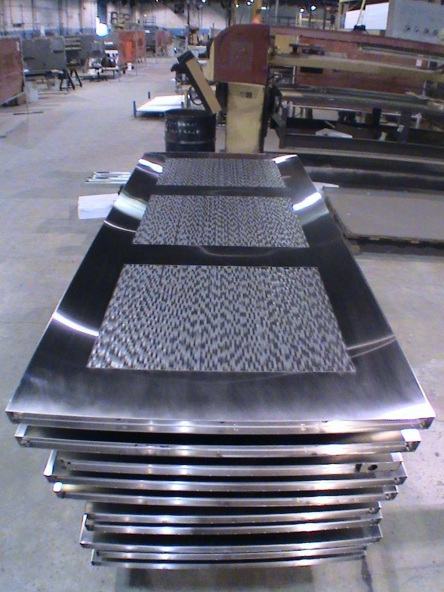 Custom Stainless Steel Door Fabrication Dash Door