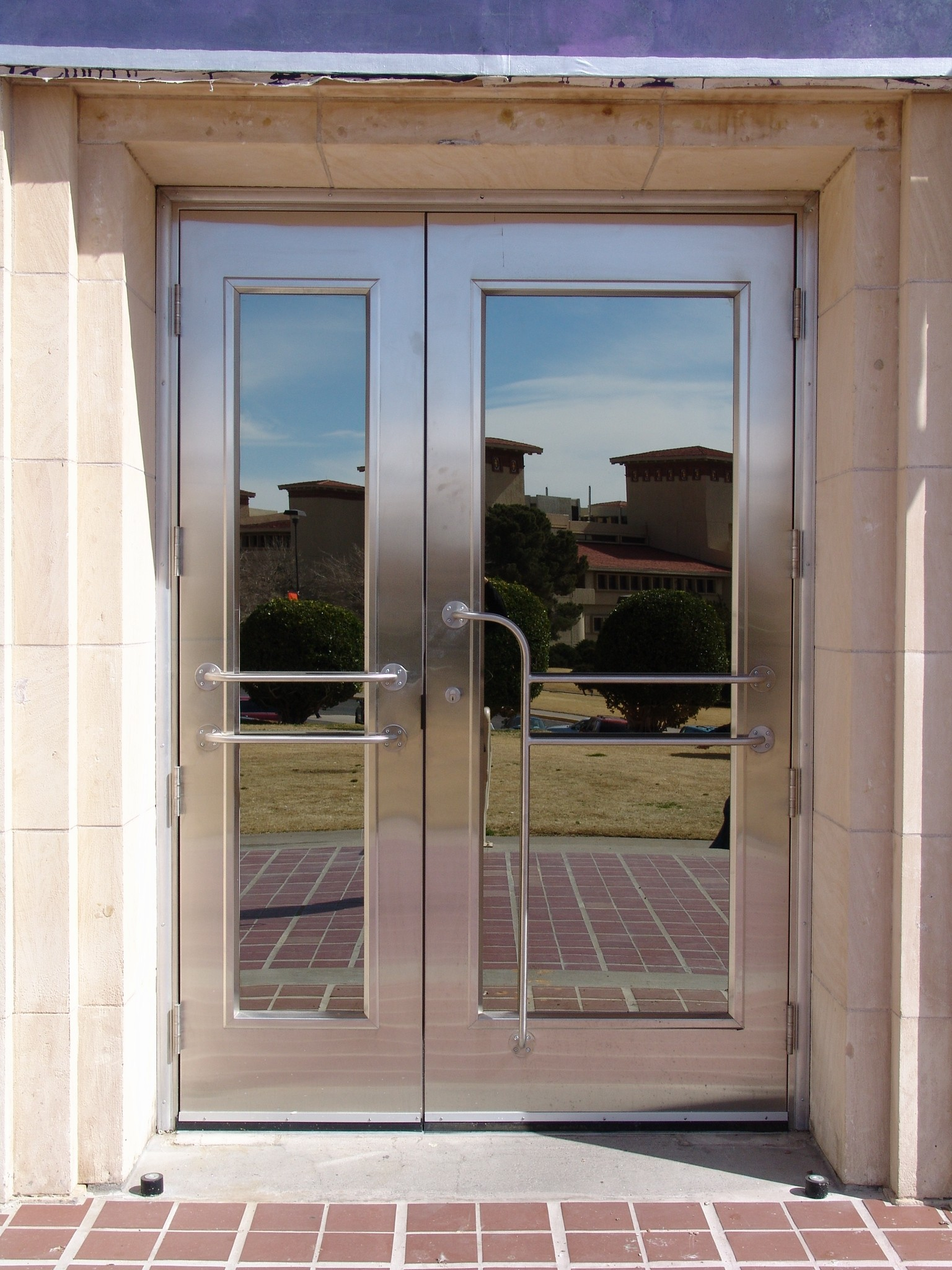 Doors Design: Custom Stainless Steel Door Fabrication