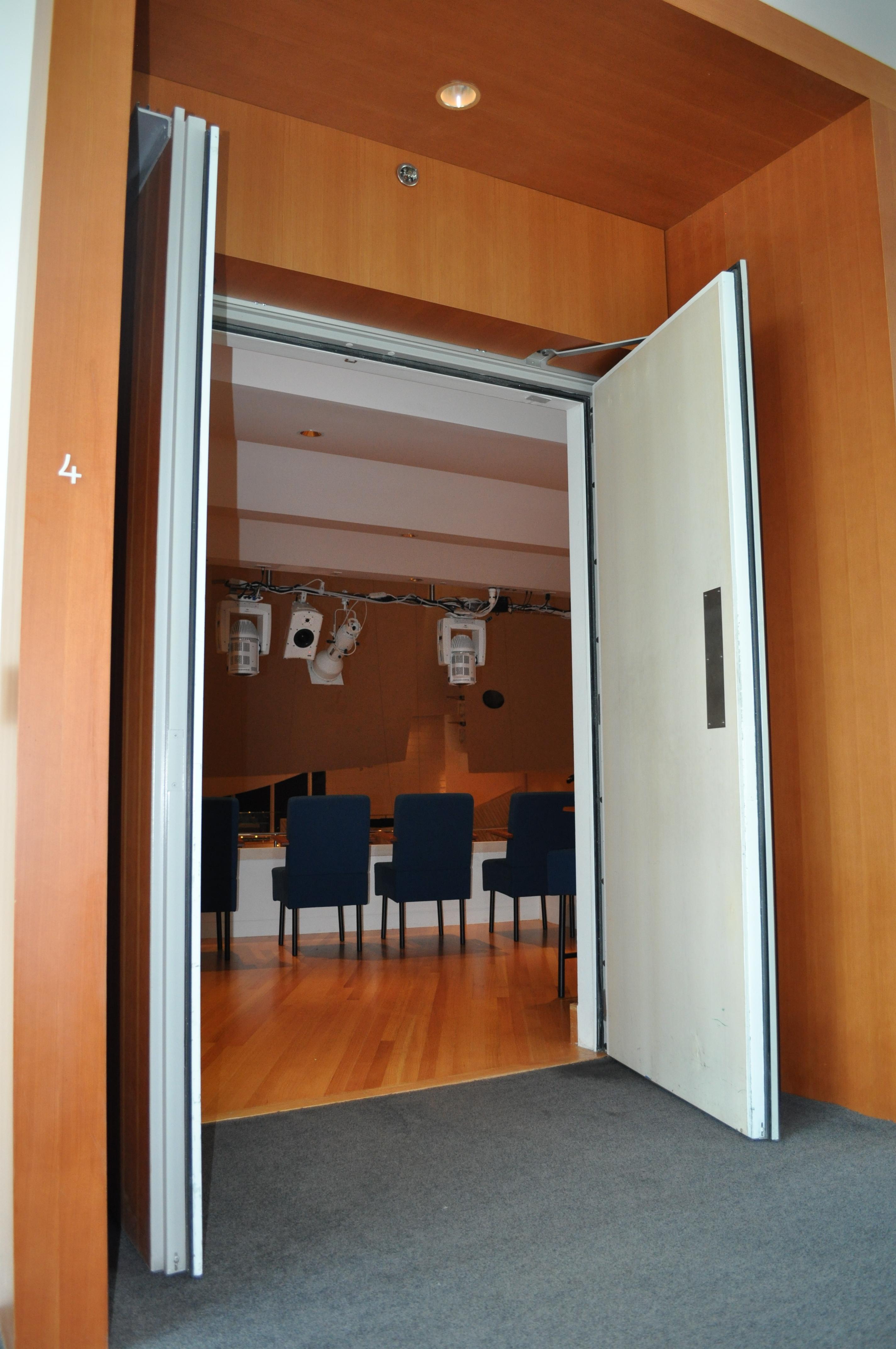 New World Symphony Hold Open Fire Doors Dash Door