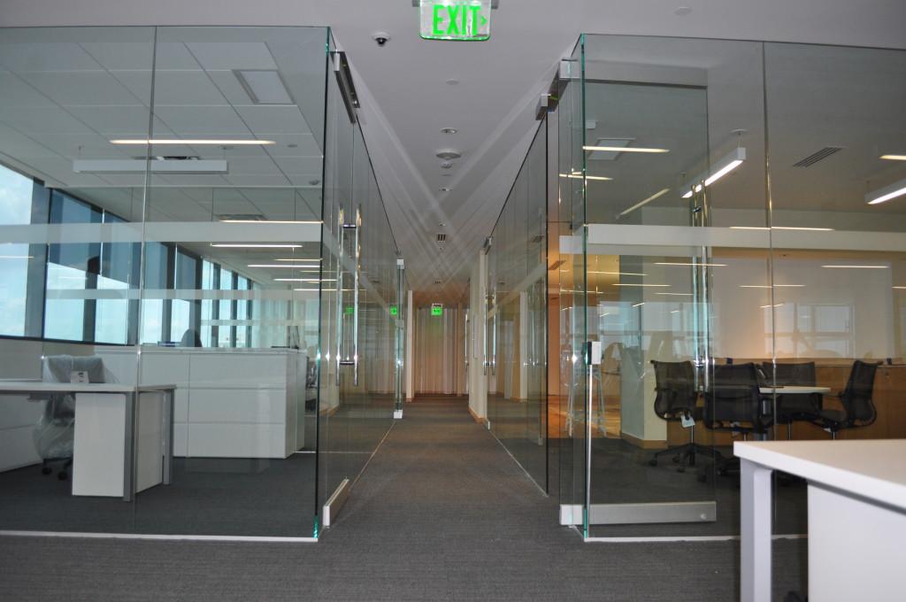 Chopard All Glass Interior Office Front Dash Door