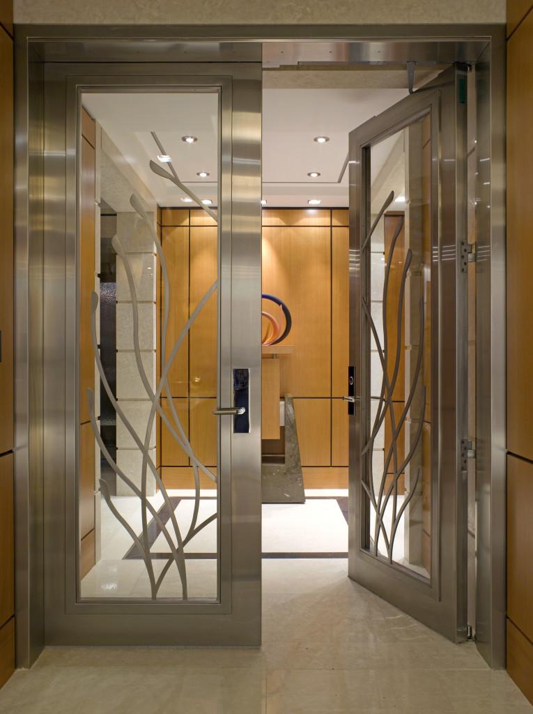 Four Seasons Penthouse Custom Entrance Dash Door