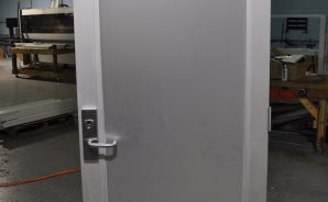Custom Aluminum and Glass Impact Door