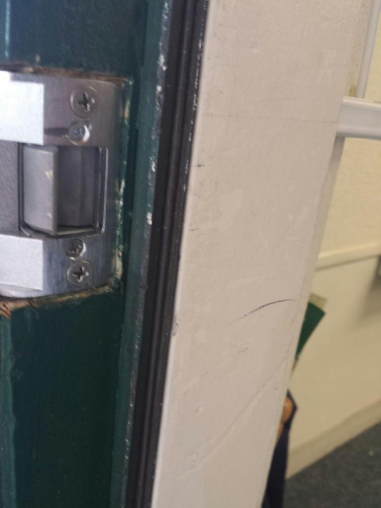 Village Pines School Access Control Upgrades Dash Door