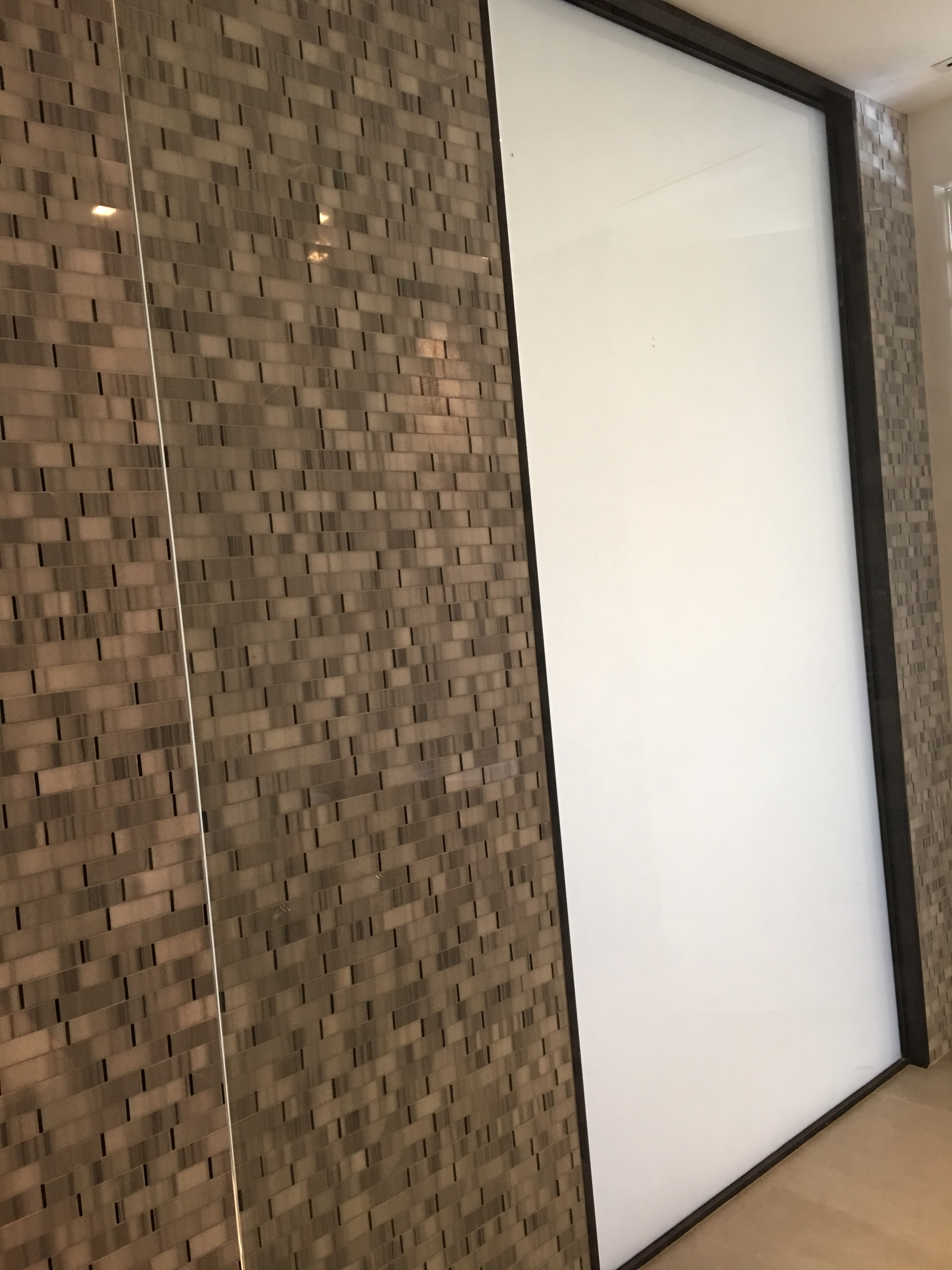 PrivacyVue™ Panel - Shower View