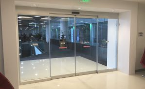 All-Glass Sliding Automatic Door - MIA Gate