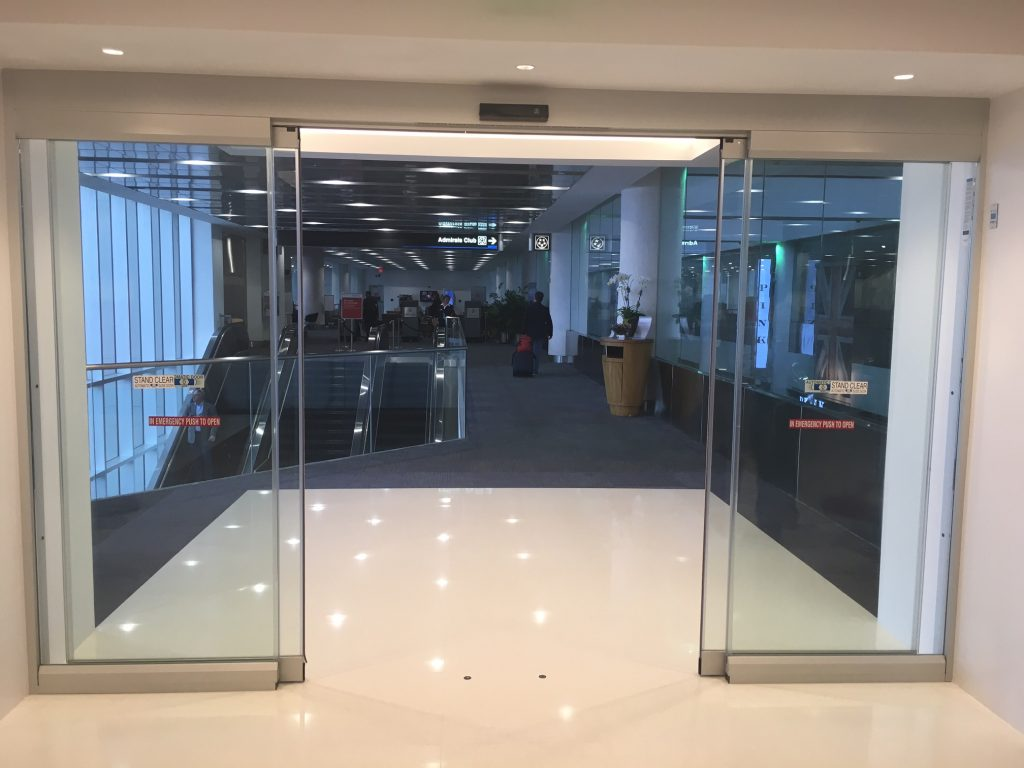 Record 5200 Series All Glass Sliding Door System Dash Door