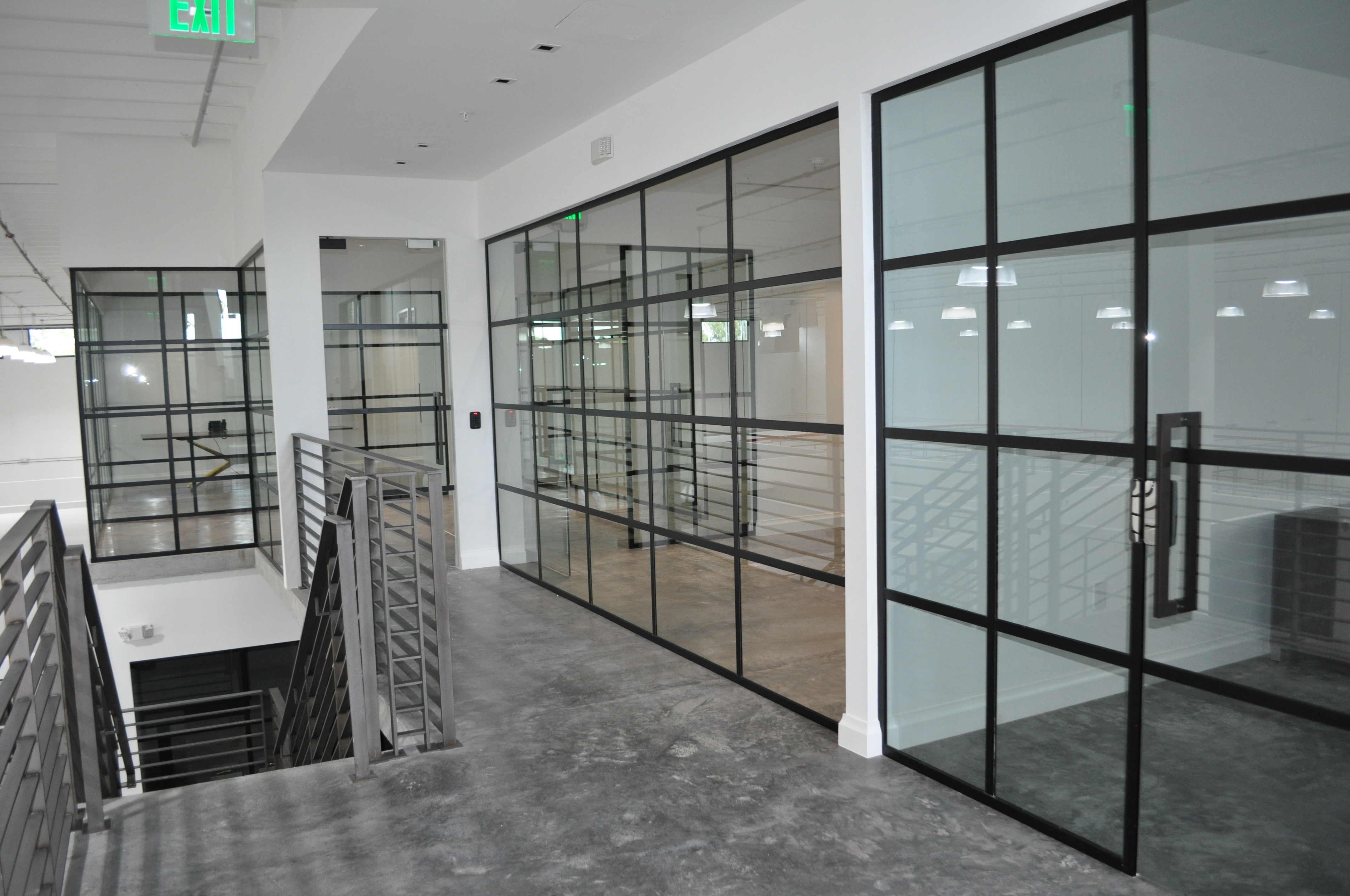 Alexis Glass Office Fronts Amp Access Control System Dash Door