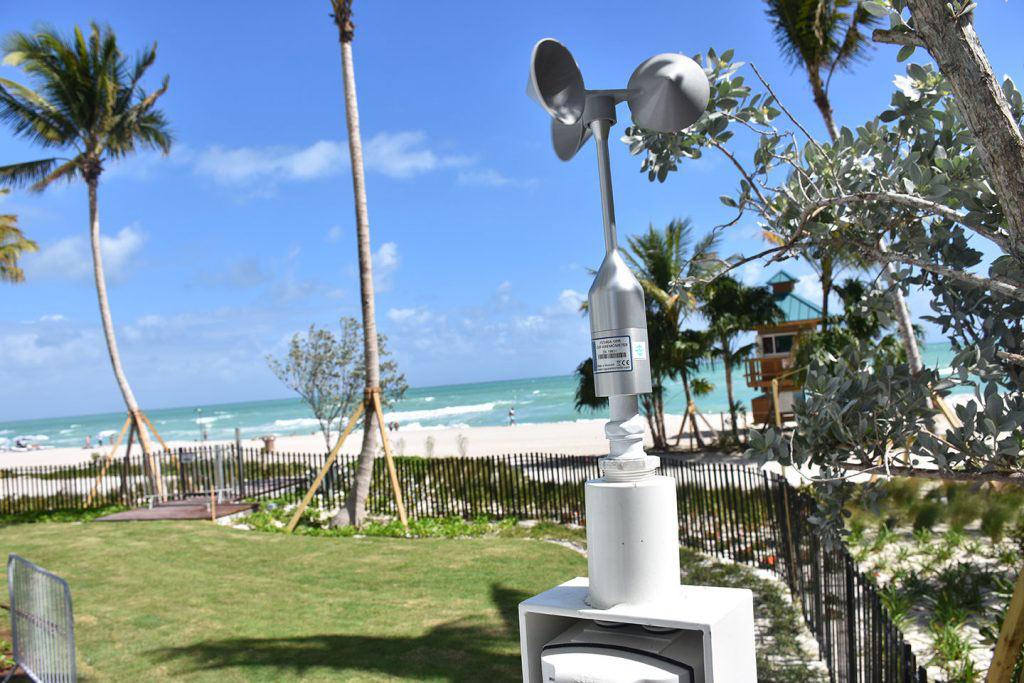 Beach Wind Anenometer - Integrated to Custom Door PLC
