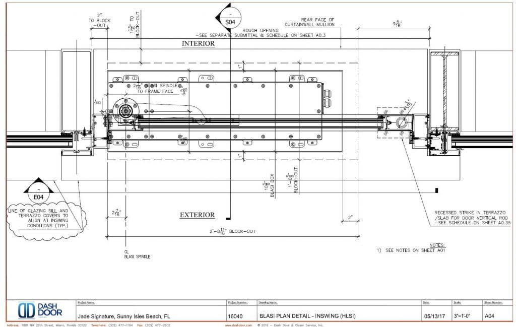 Dash Door CAD